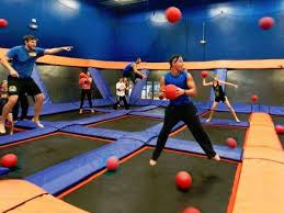 Perfect combinations: Trampoline & Dodge ball